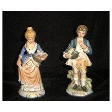 Royal Coronet French Style Figurines-Dan Brechner