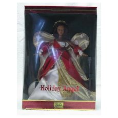 Mattel Second Issue In The Holiday Angel Barbie Series