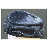 Vintage Hand Beaded Hat