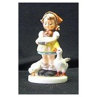 "Hummel 197/2/0 ""Be Patient"" Figurine With Trademark Six"