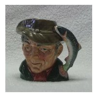 "Royal doulton Small ""The Poacher"" Character Jug"