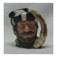 "Royal Doulton Small ""The Trapper"" Character Jug"