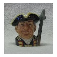 "Royal Doulton Small Character Jug ""The Guardsman"""