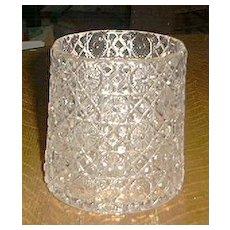 Pretty Pressed Glass Spooner