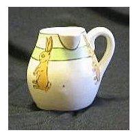 Roseville Pottery Side Handle Juvenile Creamer