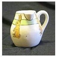 Roseville Pottery Side Handle Juvenile Creamer