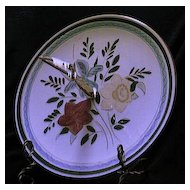 """Stangl Pottery """"Country Garden"""" Handled Server"""