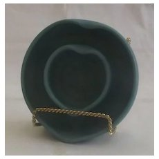 Van Briggle Pottery Heart Shaped Flower Ring