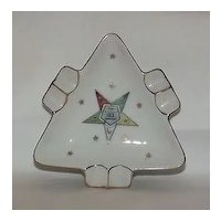 Lefton China Eastern Star Ashtray