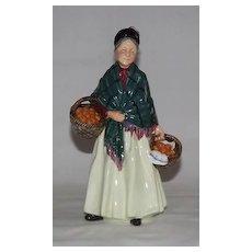 "Royal Doulton Figurine ""The Orange Lady"" HN 1953"