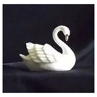 Lenox Swan Shaped Card Holder