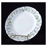 Shelley Harebell Salad Plates In The Oleander Shape