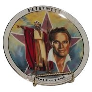 Charlton Heston Hollywood Walk Of Fame Plate