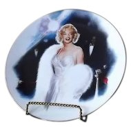 "Marilyn Monroe Collector Plate Titled ""Opening Night"""