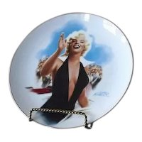 """Marilyn Monroe Collector Plate Titled """"Stopping Traffic"""""""