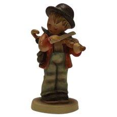 """Hummel Figurine Titled """"Little Fiddler"""""""