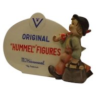 M. I. Hummel Figures Dealer Display