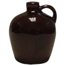 Unmarked Small Brown Jug