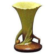 """Roseville Pottery """"Wincraft"""" Pattern Vase 283-8"""
