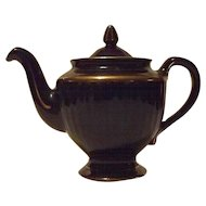 "Hall China ""Los Angeles"" Cobalt Blue Teapot"