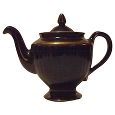 "Hall China ""Los Angeles"" Cobalt Blue Teapot"