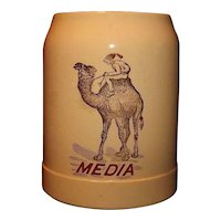 "Shriners Mug Marked ""Media"""