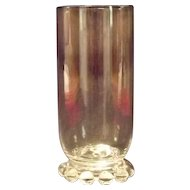 "Imperial Glass ""Candlewick"" Pattern Iced Tea Tumbler"