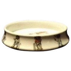 Juvenile Feeding Dish With Sporting Elephant Decoration From Germany