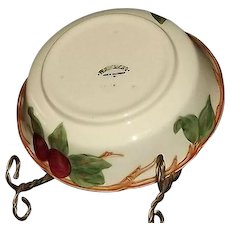 "Franciscan ""Apple"" Pattern Vegetable Bowl"