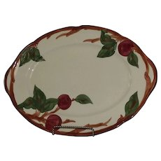 "Franciscan ""Apple"" Pattern Platter"