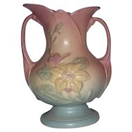 Marked Hull Pottery Magnolia Vase 3-8 1/2""