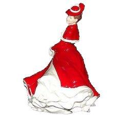 "Royal Doulton Figurine Titled ""Christmas Celebration"" HN4721"