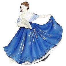 "Royal Doulton Figurine Titled ""Elaine"" HN4718"
