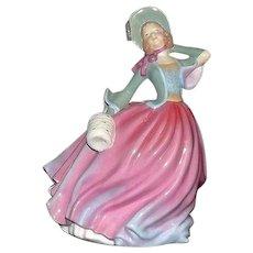 "Royal Doulton Figurine Titled ""Autumn Breeze"" HN4716"