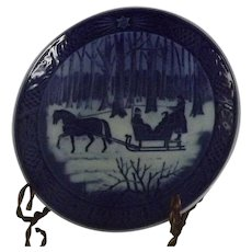 Royal Copenhagen Annual Christmas Plate From 1984
