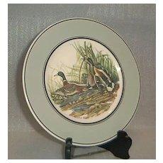 "John James Audubon ""Mallard"" Porcelain Plate"