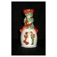 1989 Avon Christmas Porcelain Bell