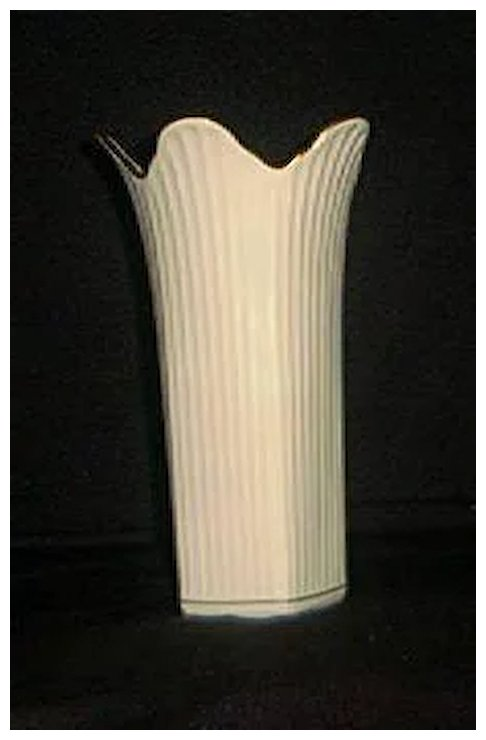 Lenox Five Sided Vase With Gold Trim A Dream Remembered Ruby Lane