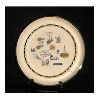 Carrier Corporation 25TH Anniversary Ashtray