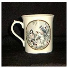 "Lenox Mug From The Nature's Collage Series ""Winter Song"""