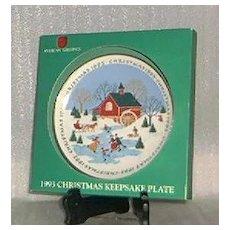 American Greeting 1993 Keepsake Plate