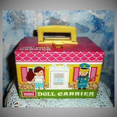Mini Doll Carrier with Mini Doll