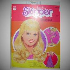 Vintage- SKIPPER Paper Dolls-Uncut-1980