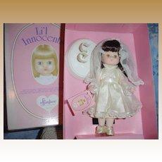 Effanbee First Communion Li'l Innocents Doll - AMY