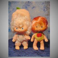 Strawberry Shortcake Family  Dolls Lot