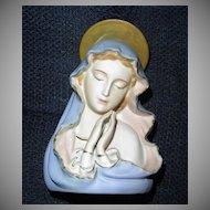 Vintage 'Sanmyro' Praying Holy Virgin Mary