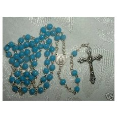 1950 Round Bead Catholic Rosary