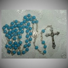 1950 Round Bead Catholic Rosary