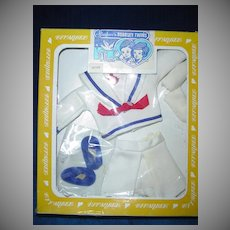 1982 Effanbee Bobbsey Twins FREDDIE  Go A Sailing Sailor Outfit