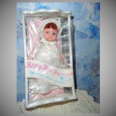 Uneeda 'Bitty Bye, Baby in Cradle' *MINT